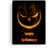 Evil Halloween Canvas Print