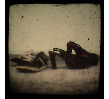 He was a skater boy, she said seeya later boy Photographic Print