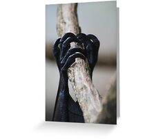 Sleeper Hold Greeting Card