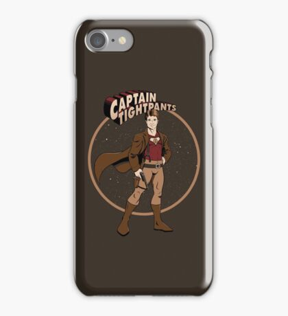 Captain Tightpants iPhone Case/Skin