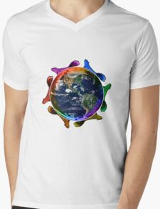 Who Rules the World? Squirrels! Mens V-Neck T-Shirt