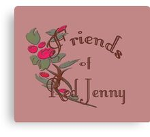 Friends of Red Jenny Canvas Print