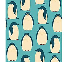 Happy penguins Photographic Print