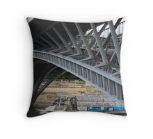 Paris Bridges Throw Pillow