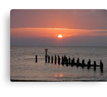 A new day! Canvas Print