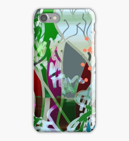 Modern with abstract, designs iPhone Case/Skin