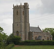 St Mary the Virgin Church, West Buckland Somerset. by kenmay