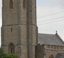 St Mary the Virgin Church, West Buckland Somerset. Sticker