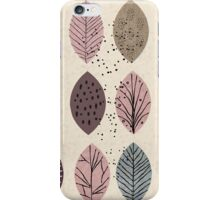 Nature Inspired Leaves  iPhone Case/Skin