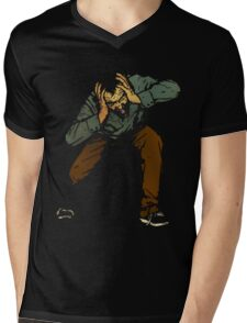 Maybe It's Time To Invest In A Tin-Foil Hat To Keep Your Thoughts Safe? Mens V-Neck T-Shirt