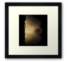 Leliana's Song Elvish Framed Print