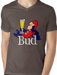 Budweiser Bud Man New Mens V-Neck T-Shirt