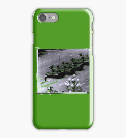 """""""1989 Tiananmen square Tank Man"""" T-Shirt etc... iPhone Case/Skin"""