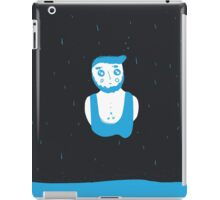 the bluest bearded rain czar iPad Case/Skin