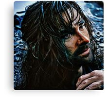 Kili by the river Canvas Print