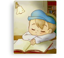 Professor Layton- Sleeping Luke Canvas Print