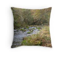 watcher in the woods Throw Pillow
