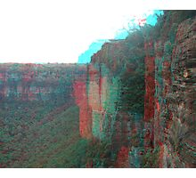 Echo Point 3D Photographic Print