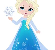 Princess Elsa. Inspired Frozen. by Sandytov