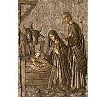 The Birth of Christ Photographic Print