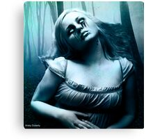 so a vampire can cry updated Canvas Print