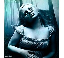 so a vampire can cry updated Photographic Print