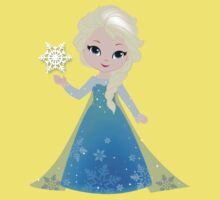 Princess Elsa. Inspired Frozen. Kids Clothes
