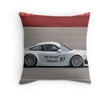 Brixia Racing Porsche Throw Pillow