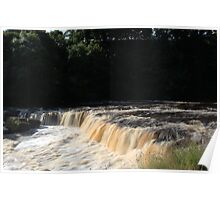 Aysgarth Falls In Full Force Poster