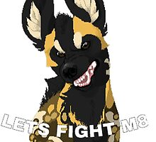 Fight me  by pip-naget