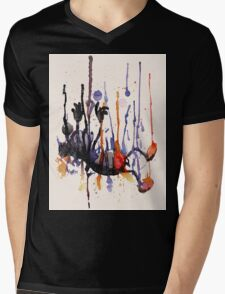 Falling Mens V-Neck T-Shirt