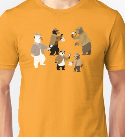 A Sleuth of Bears Unisex T-Shirt