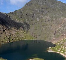 Snowdon viewed from Pyg Track by Mark Dobson