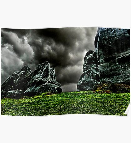 Bellow The Clouds Fine Art Print Poster