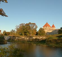 Kuressaare Castle Panoramic Photo by Marko Palm