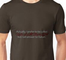 Addison Montgomery Ruler of All That is Evil Unisex T-Shirt