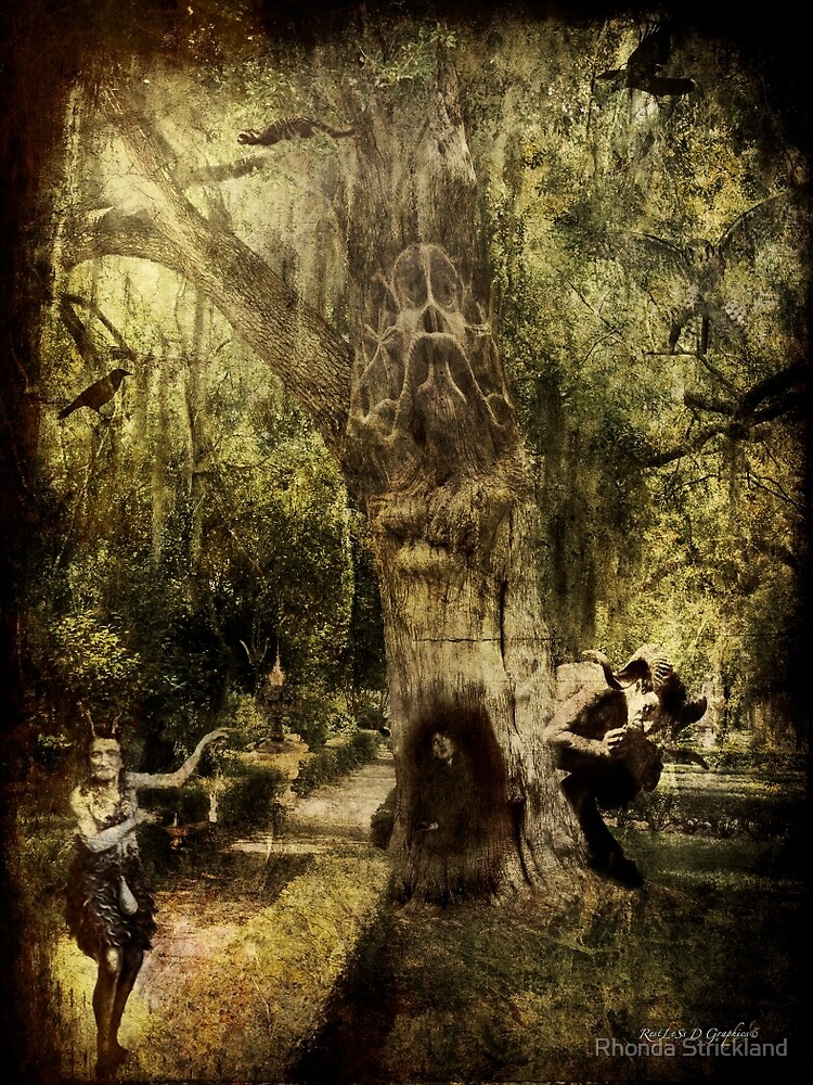 The Old Goat Tree (poetry & music) by Rhonda Strickland