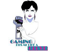 Retro PowerGlove Gamer Photographic Print