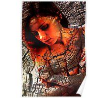 Monika portrait Poster