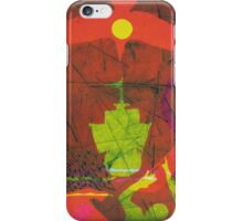 On the 3rd Day (from Meditations on Moby Dick) iPhone Case/Skin