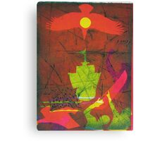 On the 3rd Day (from Meditations on Moby Dick) Canvas Print