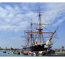 HMS Warrior Photographic Print