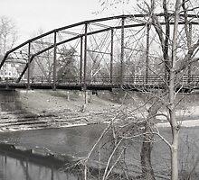 War Eagle Bridge in Winter by Melapaloosa