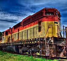 Locomotive by Jigsawman