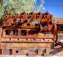 Death Valley    BORAX Engine by gdedalmas