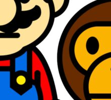Milo & Mario Sticker