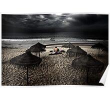 Beach Minstrel Poster