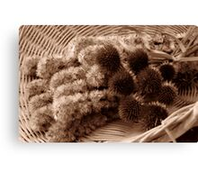 Texture of fall Canvas Print