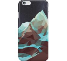 Night Mountains No. 5 iPhone Case/Skin