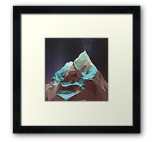 Night Mountains No. 5 Framed Print